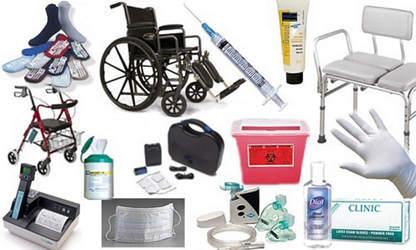 Materiais hospitalares