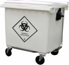 Contentor para lixo hospitalar