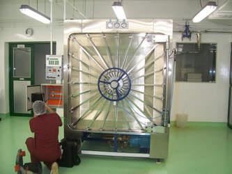 Calibração de contador de partículas
