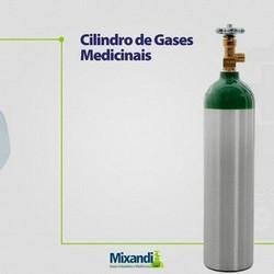 Cilindro oxigenio medicinal 3 litros