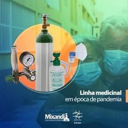 Kit oxigênio medicinal portátil