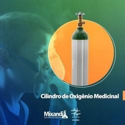 Locação de cilindro de oxigênio hospitalar